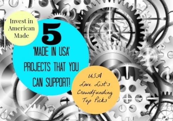 #madeinUSA Crowdfunding Campaigns