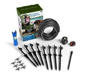 Mister Landscaper   Water saving irrigation system   Container garden irrigation