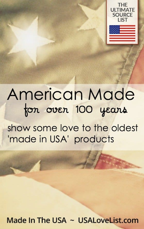 usa american oldest companies years favorite long below them comments