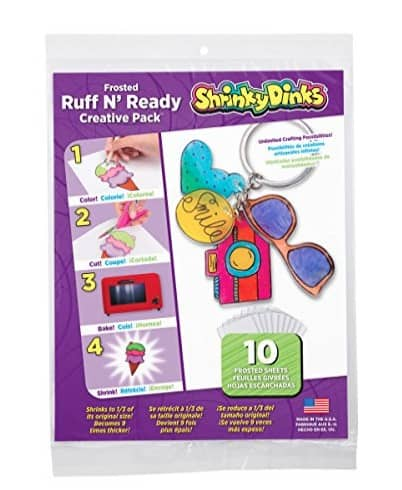 Screen Free Family Fun Time: Shrinky Dinks #usalovelisted