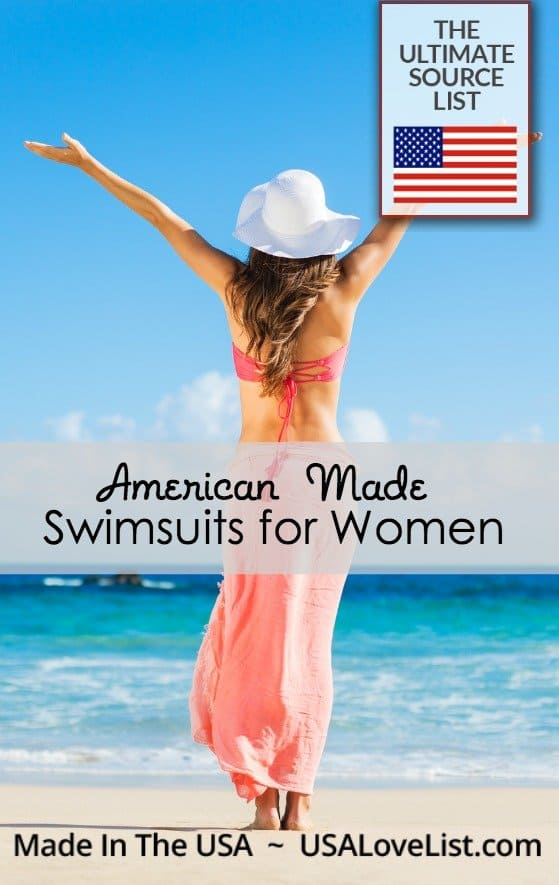 Swimsuits for Women Women's swimwear Made in USA