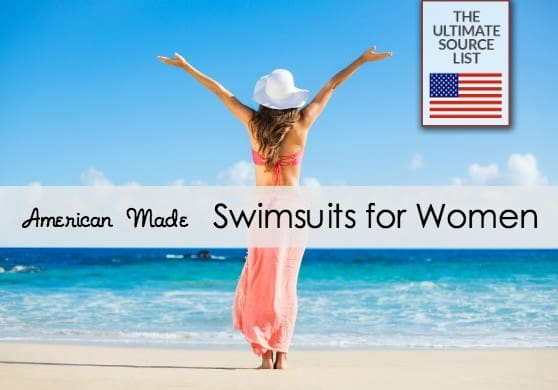 Swimsuits for women made in USA