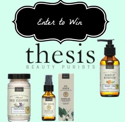Thesis Organic Beauty Products, American Made