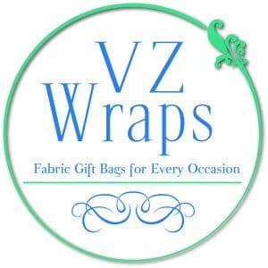VZ Wraps Fabric Gift Bags for Every Occasion #madeinUSA