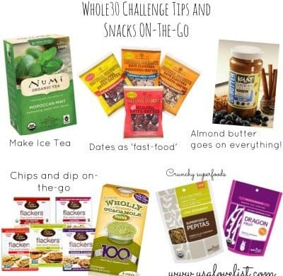 Whole30 Challenge Snacks and Tips For Success