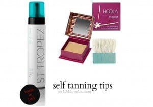 Tips For Applying Self Tanner For a Sunless Summer Glow