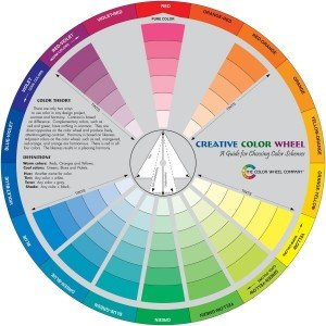 The Color Wheel, made in Oregon