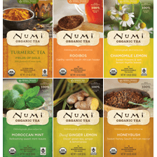 Organic, Pesticide-Free, Fair Trade Teas From Numi