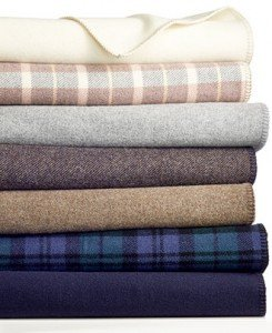 Pendelton blankets, made in Oregon