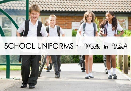 School Uniforms made in USA