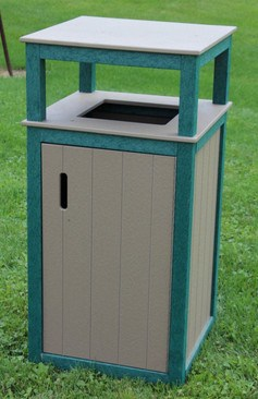 Polly Products #madeinUSA #Ecofriendly Trash Receptacle