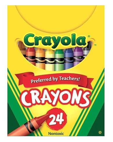 Best Made in USA School Supplies: Crayola crayons #madeinUSA #usalovelisted #backtoschool #schoolsupplies