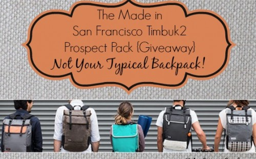 Customize your ownTimbuk2 Prospect Pack #madeinUSA