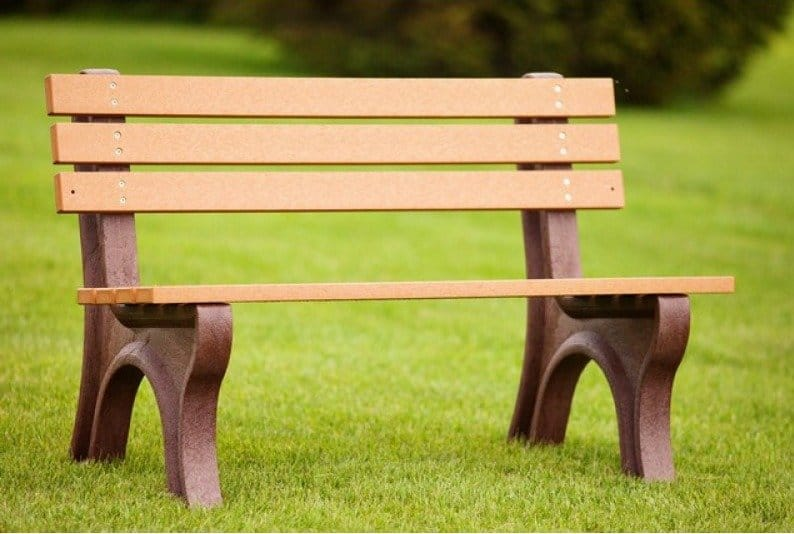 Polly Products #madeinUSA #Ecofriendly benches- great to use as a 'Buddy Bench'!