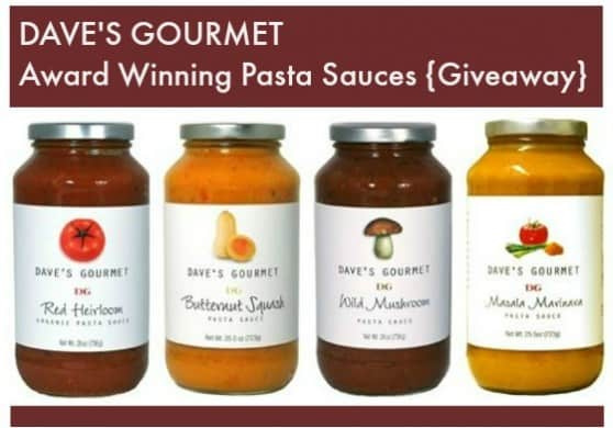Dave's Gourmet Giveaway