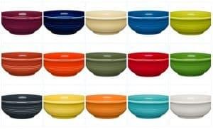 Fruit/Salsa bowls, Fiesta by Homer Laughlin China Co.