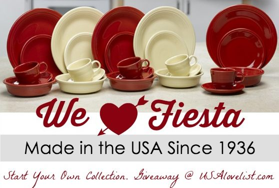 Giveaway: Start your Fiesta Dinnerware Collection