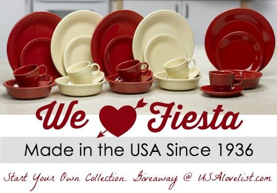 Giveaway Start your Fiesta Dinnerware Collection  sc 1 st  USA Love List & Giveaway: Start your Fiesta Dinnerware Collection \u2022 USA Love List