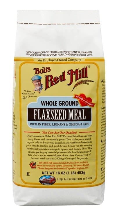 Bob's Red Mill Flaxseed Meal | Made in USA | Adds fiber and omega 3 fats to you favorite pancake recipe!