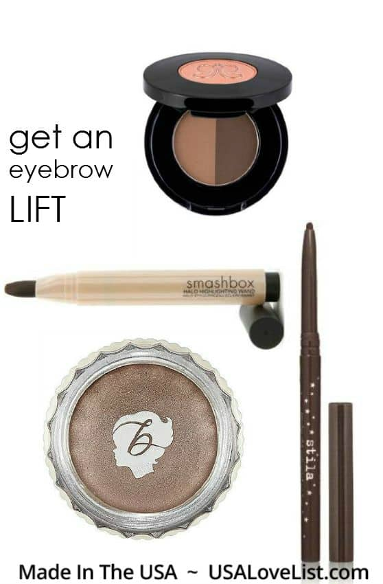How To Get An Eye Lift Using American Made Makeup Eyebrow Makeup