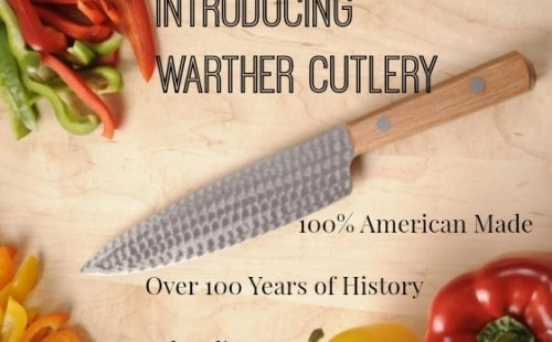 Warther Cutlery 100% American Made Knives