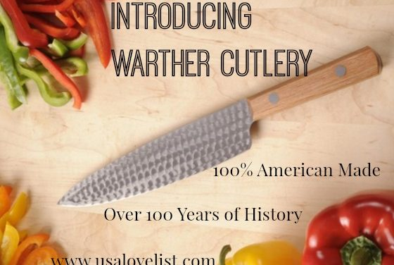 Introducing 100% American Made Knives by Warther Cutlery