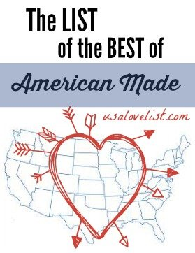 The List of the Best of American Made