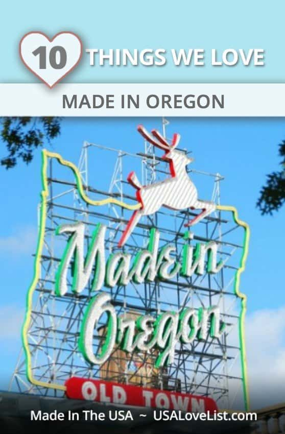 Stuff We Love, Made in Oregon, Made in the USA via USAlovelist.com