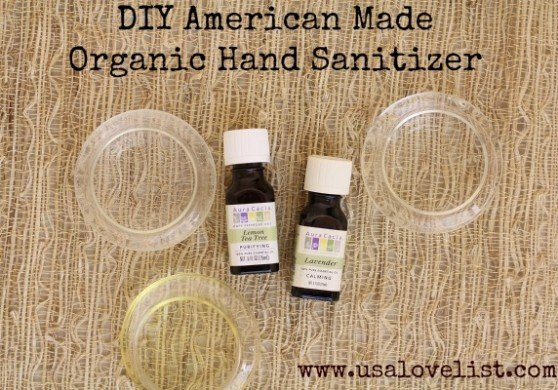 DIY: American Made Organic Hand Sanitizer