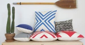 Towels, Totes and Pillows Made in Brooklyn USA by Au Retour