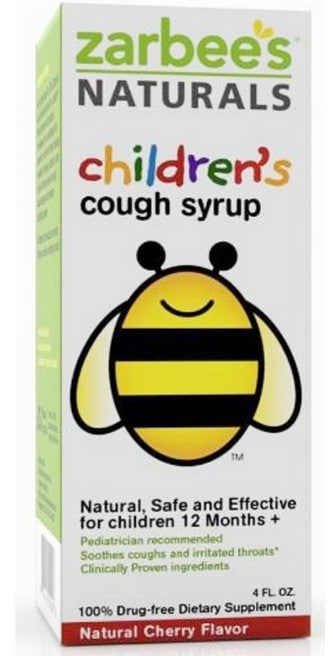 Zarbee's Naturals honey base cough syrup | National Honey Month | American Honey