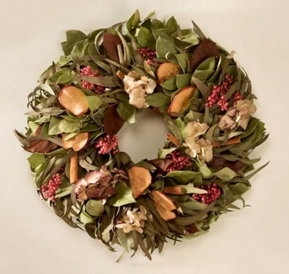 Apple Spice fall wreath | Made in USA | Fall decorations