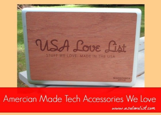 Four American Made Tech Accessories We Love