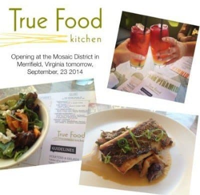 True Food Kitchen Opens at Mosaic District in Merrfield, Virginia