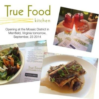 True Food Kitchen: Sources Local Food And Opens Tomorrow in Merrifield, Virginia