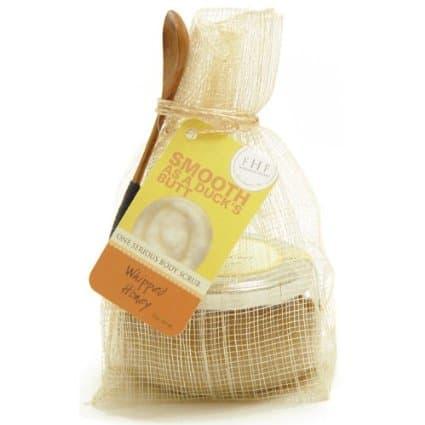 FarmHouse Fresh Whipped Honey Body Scrub   National Honey Month   American Honey   Vegan + gluten free skin care product