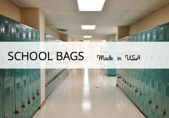 school bags made in USA