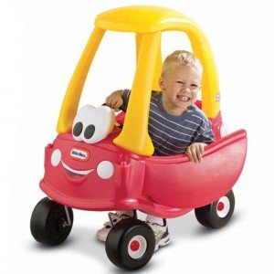 Little Tikes Cozy Coupe is made in the USA!