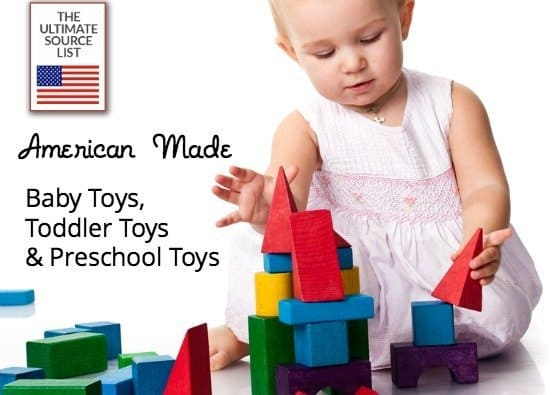 American Made Baby Toys | Made in USA Toddler Toys
