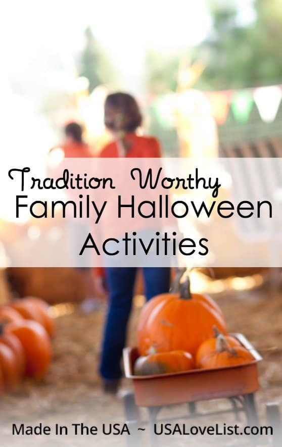 Create a family tradition with these Halloween activities