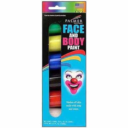 Face painting ideas with made in USA face paint like Palmer Face and Body Paint #usalovelitsted #facepaintingideas #Halloween #costumeideas