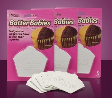 Made in USA gifts for the baker under $10: Batter Babies make great stocking stuffers!