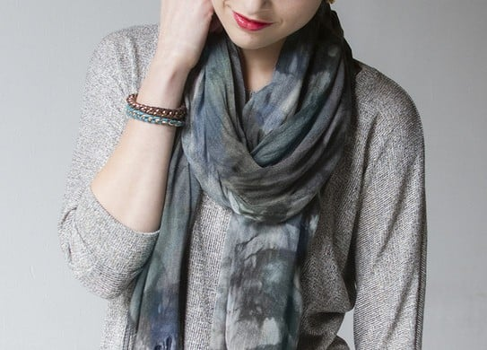 Three Tips For How To Wear A Scarf To Update Your Look For Any Season