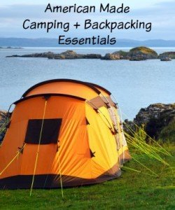 American Made Camping Essentials via USALoveList.com