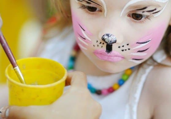 Use American Made face paint as a go-to for last minute Halloween costumes.