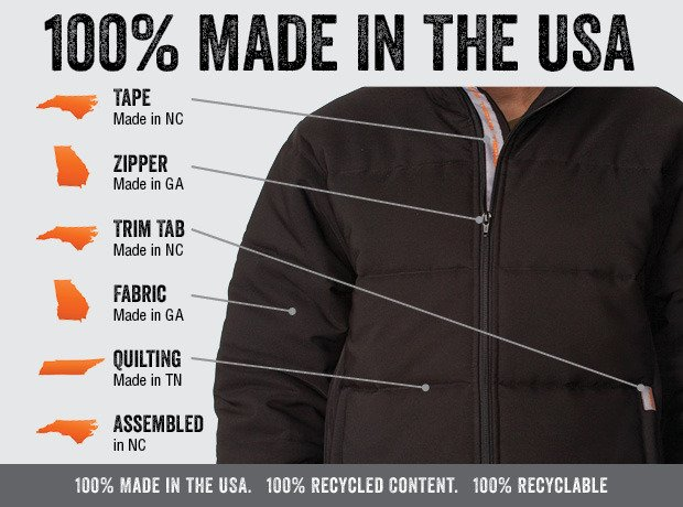 """The 5O"" Jacket 100% made in the USA kickstarter campaign"
