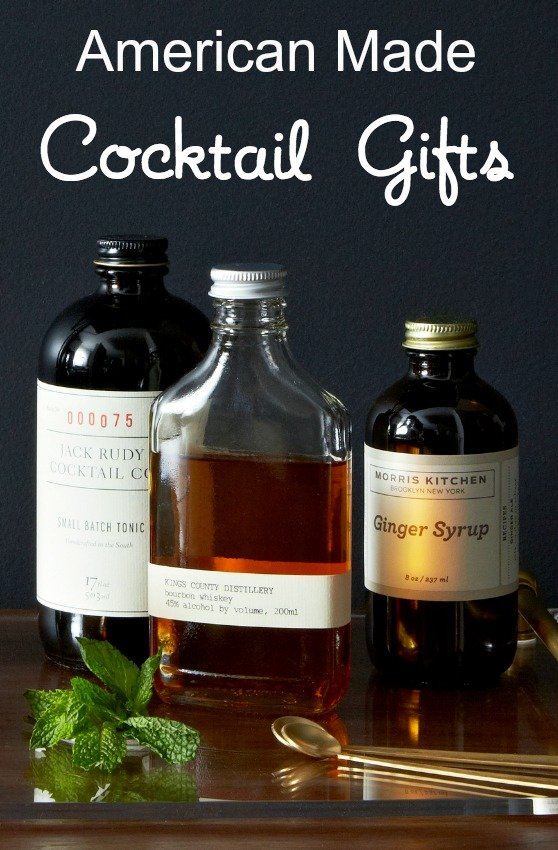 American Made Cocktail Gifts via USALoveList.com