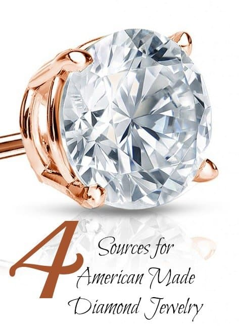 Made in the USA Diamond Jewelry via USA Love List