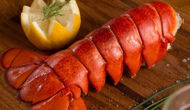 Gifts for the Foodie: Maine Lobster Tails from Get Maine Lobster - Support Our Nations Fisherman via USALoveList.com