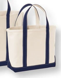 LLBean Mini Tote, American made gift under $30 #usalovelisted